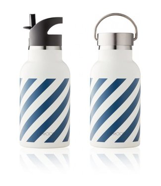 Anker water bottle Navy/Creme de la creme