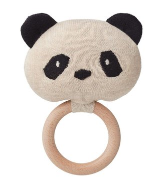 Liewood Aria rattle Panda beige beauty