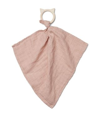 Liewood Dines teether cuddle cloth little dot rose