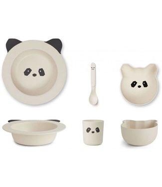 Liewood Barbara bamboo baby set Panda