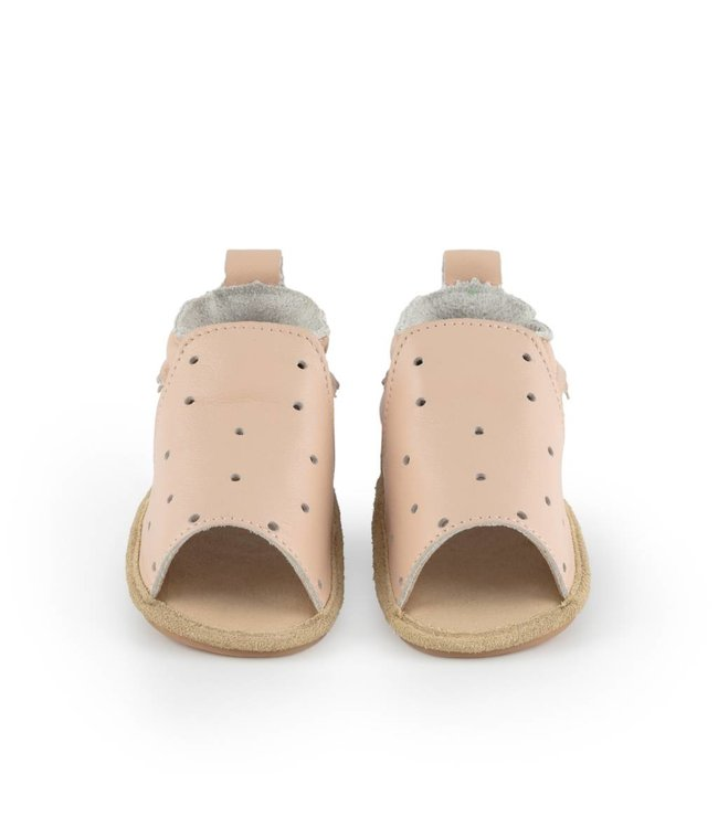 Boumy Sam Pastel Pink Leather