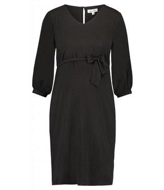 Queen Mum Dress woven black