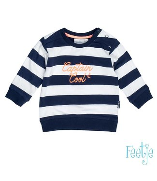 Feetje Sweater streep Captain cool