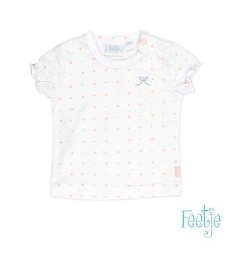 Feetje T-shirt k/m AOP Love you so