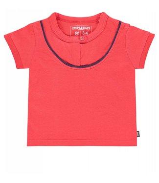 Imps&Elfs T-Shirt Short Sleeve Poppy Red