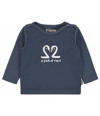 Imps&Elfs T-Shirt Long Sleeve Ombre Blue