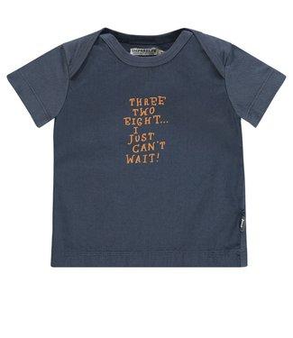 Imps&Elfs T-Shirt Short Sleeve Ombre Blue