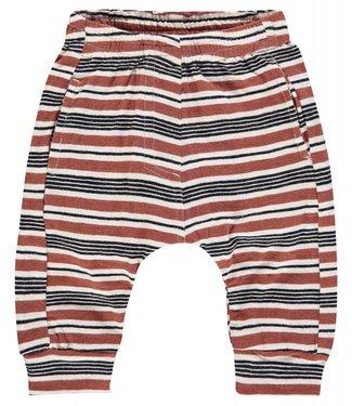 Imps&Elfs Sweatpants Brown Black Stripe
