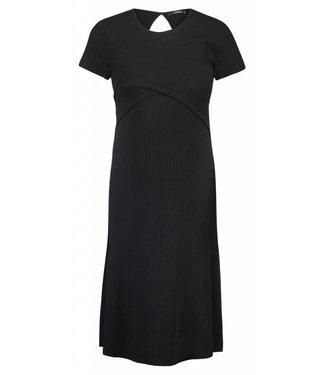 Supermom Dress ss Nurs Black