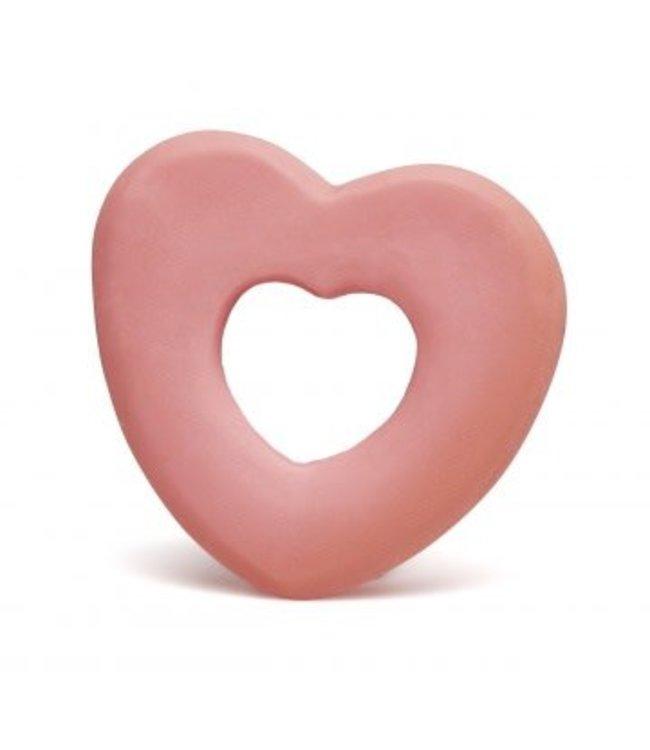 Lanco Rubberen bijtring hart