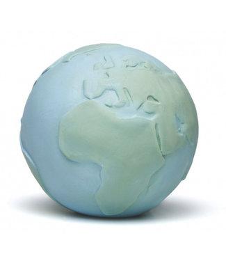 Lanco Sensory Rubberen wereldbol oceaan