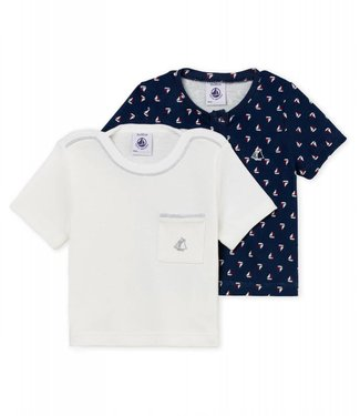 Petit Bateau T-shirts set van 2