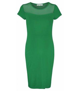 Queen Mum Dress Jersey Parakeet