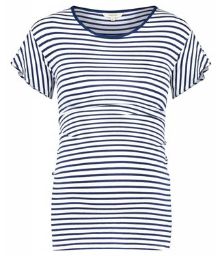 Noppies Tee ss Olivia YD Dress Blues Stripe