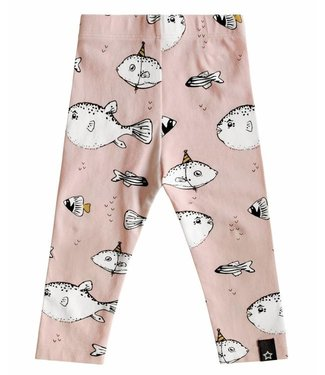 Your wishes Legging deep sea pink