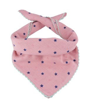 Kindersjaal sterretjes roze