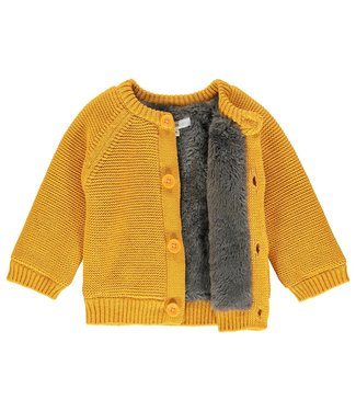 Noppies Baby Cardigan Knit Lou - Honey Yellow