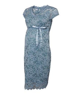 Mamalicious MLNewmivana Dress Smoke Blue