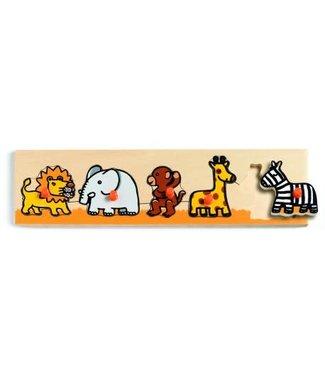 Djeco Classic puzzel savanna