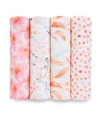 Aden + Anais Petal blooms 4-pack