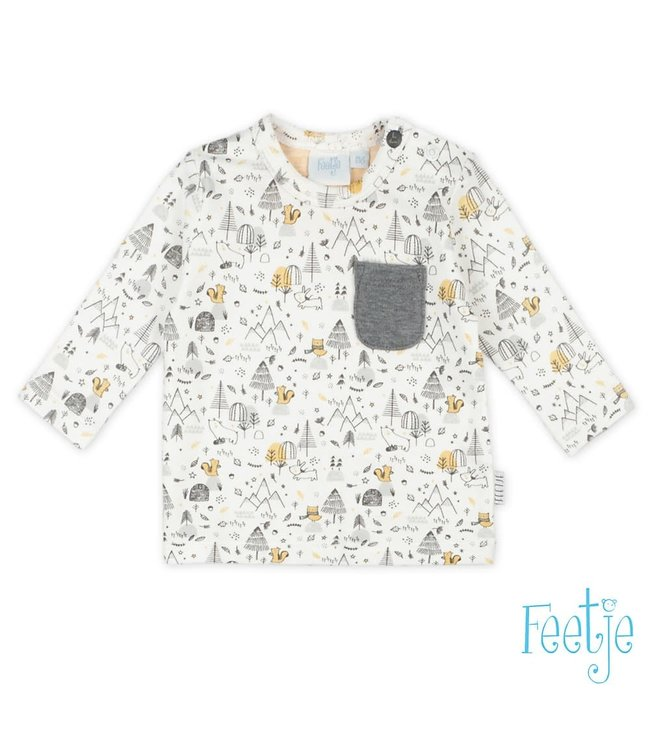 Feetje Longsleeve AOP - Little Favourite