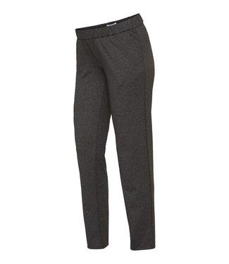 Mama licious MLHOLLIE Jersey pants dark grey