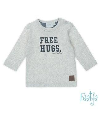 Feetje Longsleeve Free Hugs - Smile