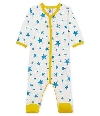 Petit Bateau Boxpak blauwe ster/geel