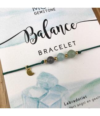 Mom gemstone Balance armband
