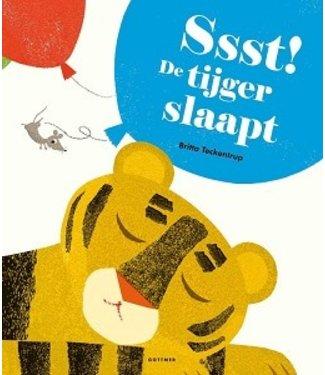 Ssst de tijger slaapt
