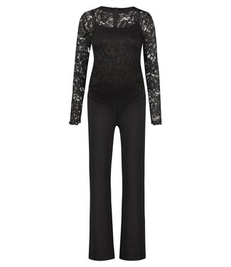 Supermom Jumpsuit is black