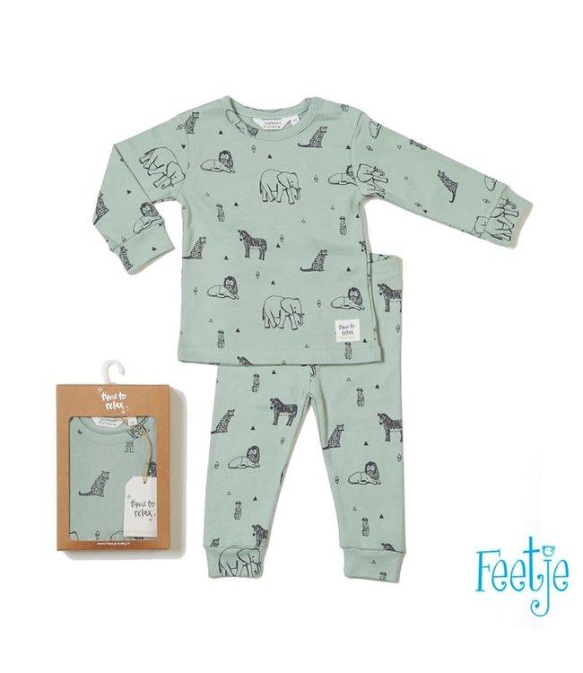 Feetje Feetje pyjama Zookeeper Zack