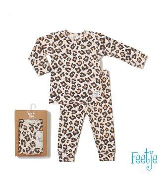Feetje Feetje pyjama Leopard lux