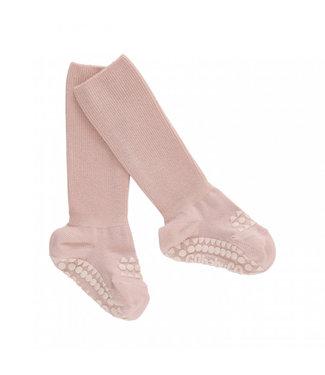 GObabyGO Non slip bambo Socks Soft pink