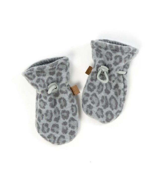 Smallstuff Mittens merino wool Leopard