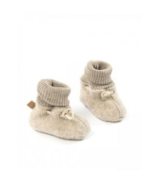 Smallstuff Booties merino wool nature