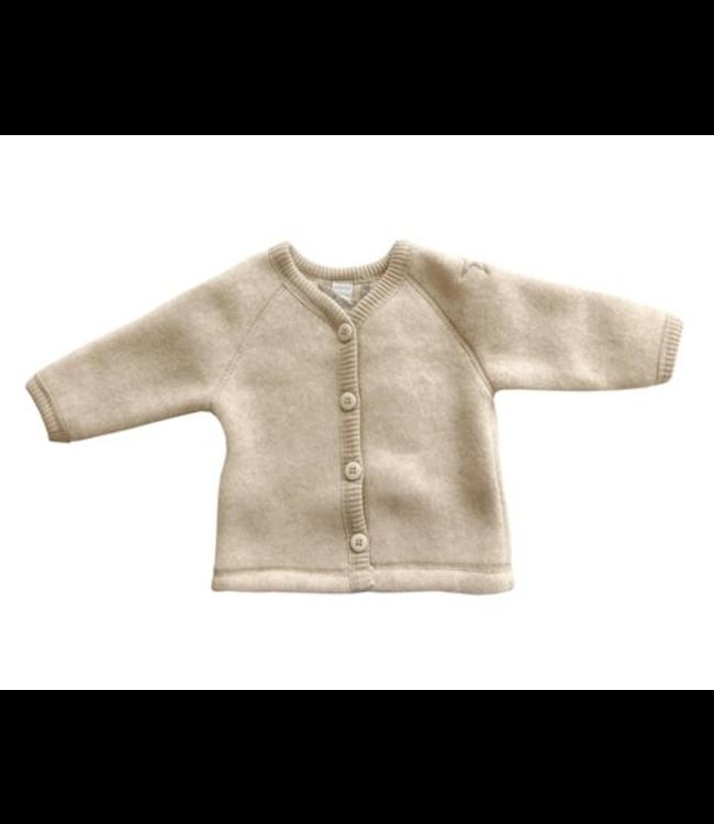 Smallstuff Cardigan merino wool nature