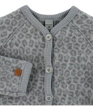 Smallstuff Cardigan merino wool Leopard