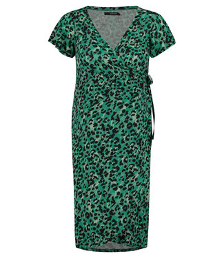 Supermom Dress ss Sea Leopard