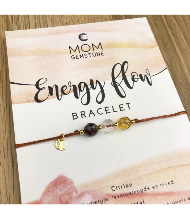 Mom gemstone Energy flow MOM gemstone