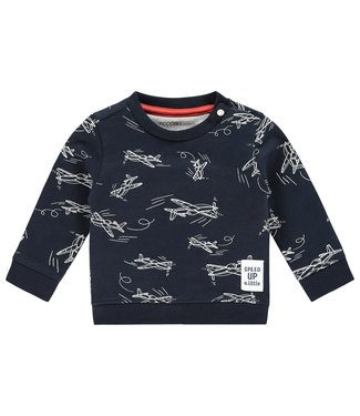 Noppies Baby B Sweater ls Archdale aop/str