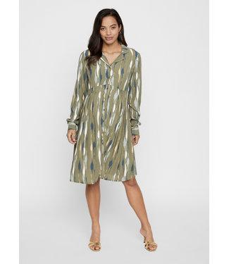 MLDANA woven dress olive