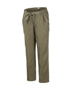 Mama licious MLLEONA woven pants olive