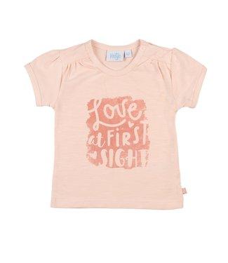 Feetje T-shirt Love at - Shells