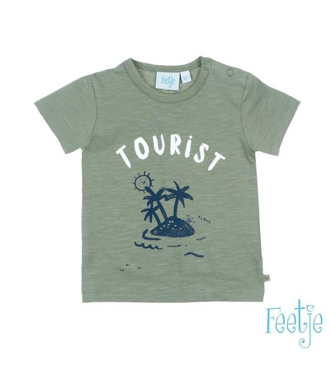 Feetje T-shirt Tourist - Smile & Wave