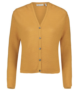 Queen Mum Cardigan ls Helsinki Sunflower
