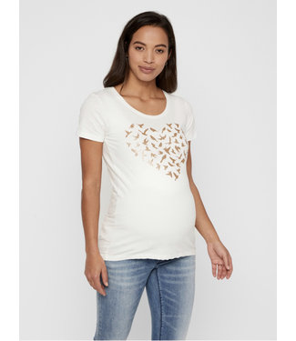Mama licious MLBIRDY S/S JERSEY TOP