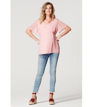 Noppies Top ss Candice Pink