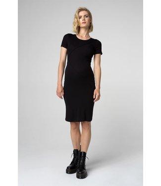 Supermom Dress ss Rib