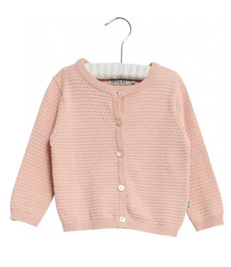 Wheat Knit cardigan Manuela